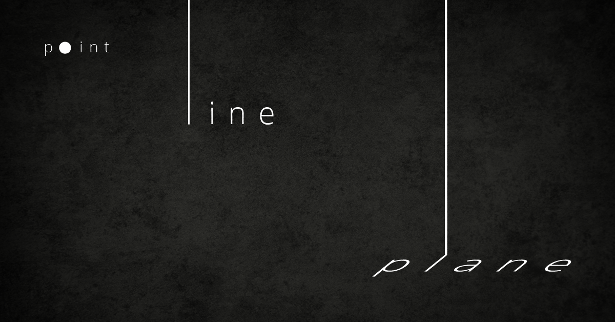 Point, Line and Plane - The Building Blocks of Graphic Design ...