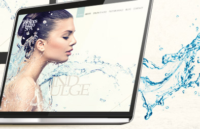 Responsive Web Design With Single Page Vertical Scroll for Wellness Hydro SPA