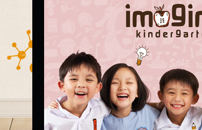 Single Page Website Design for Imagine Kindergarten