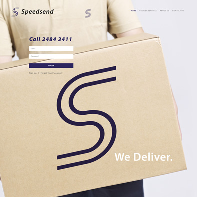 speedsend website home
