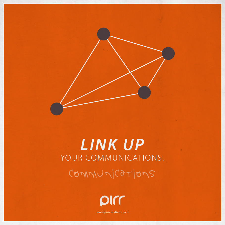 10 communications link up your communications