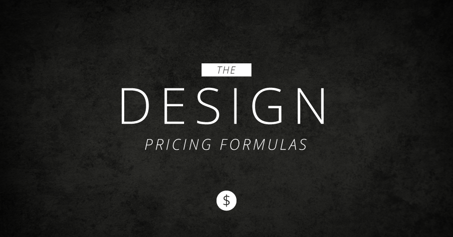 the design pricing formulas