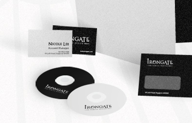 Corporate Stationery Design for Irongate