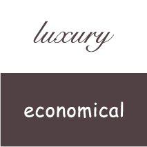 logo personality luxury economical