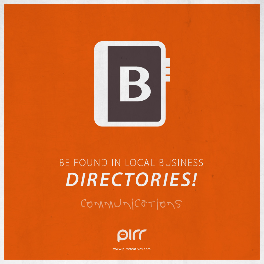 Communications: Be Found In Local Business Directories ...