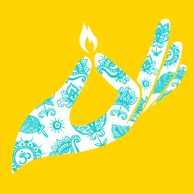 Free deepavali diwali greeting card design graphic design diwali deepavali greeting card hand indian henna tattoo m4hsunfo