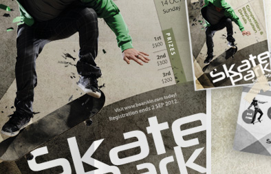 Poster and Flyer Design for Boarskin