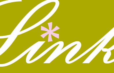 Florist Logo Repair and Monogram Creation for Blume Link