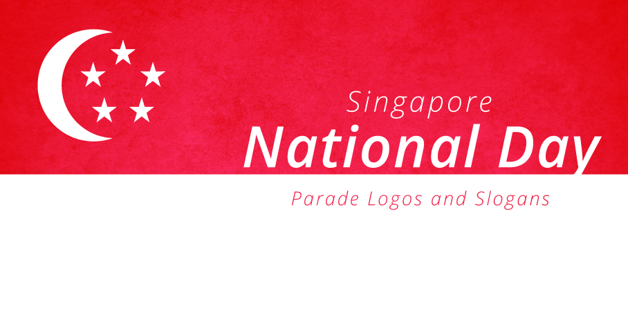singapore national day parade ndp logos and slogans