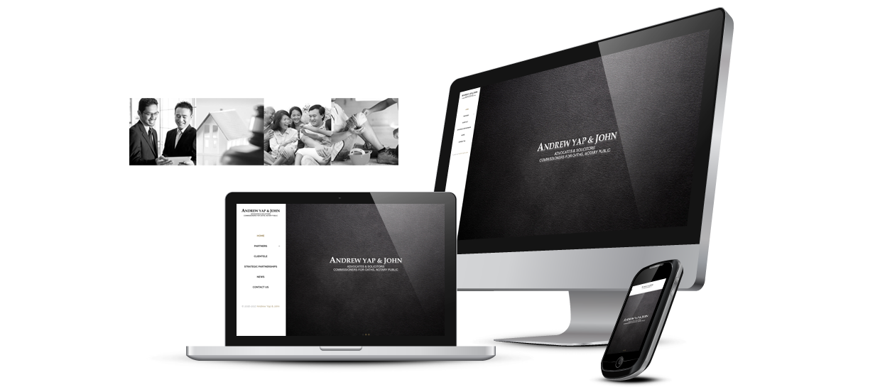 law firm website design andrew yap john legal