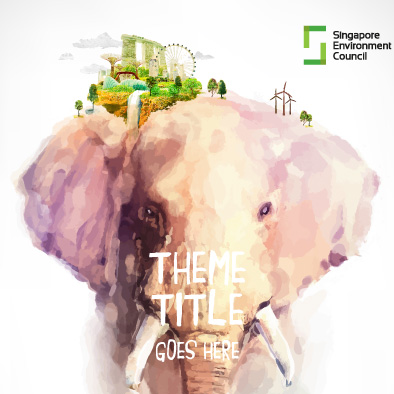 singapore environment council annual report 2015 design proposal elephant eco