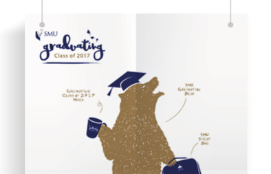 Graduating Class Publicity Posters for SMU Office of Advancement
