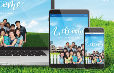 Church Website Design for Yio Chu Kang Chapel