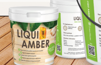 Product Label Design for Liqui Amber