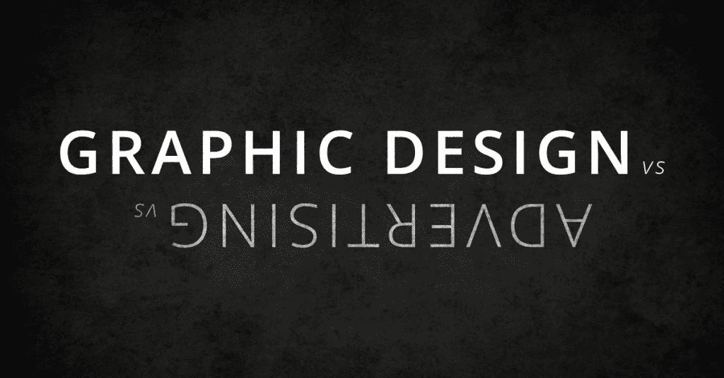 graphic design vs advertising