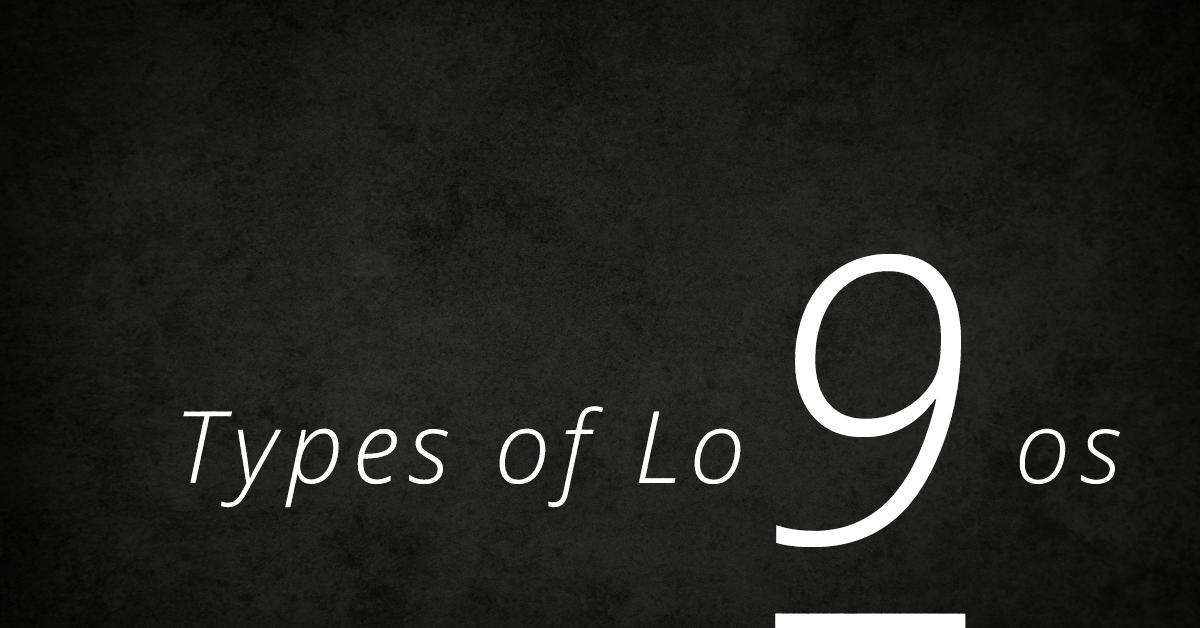 nine types of logos