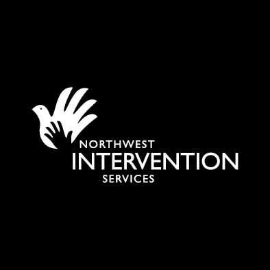 NIS logo dove hand white