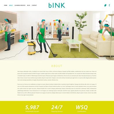 bink website about