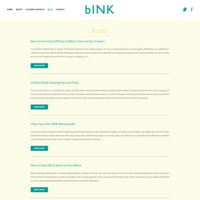 bink website blog