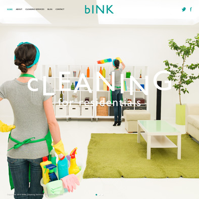 bink website home