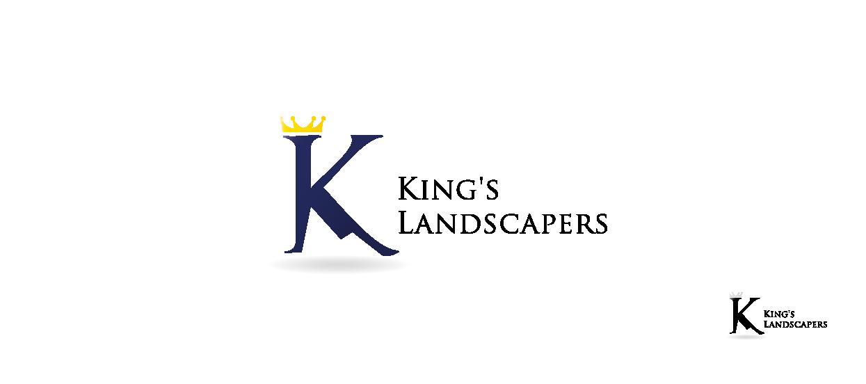 company brandmark design kings landscapers