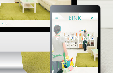Company Web Design for bINK