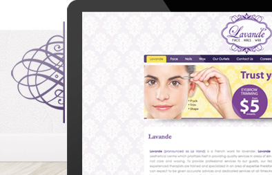 Corporate Website Design for Lavande