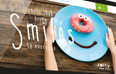 Ecommerce Web Design for Jolly Donuts Singapore