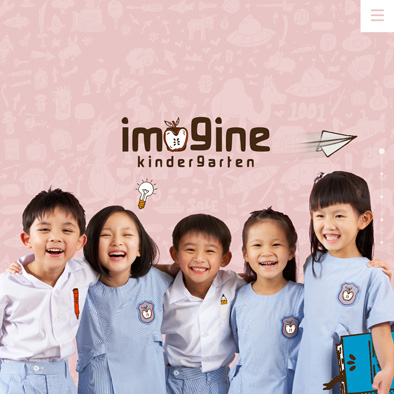 imagine kindergarten website home