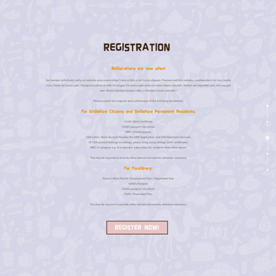 imagine kindergarten website registration