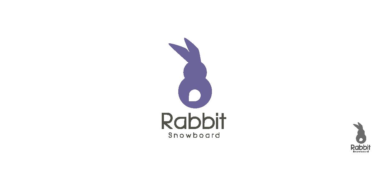 product brand design snowboard rabbit