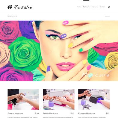 rosalie website manicure