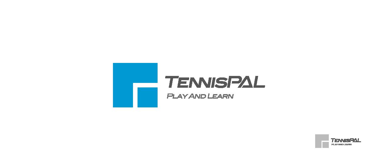 small business logo design tennis tennispal
