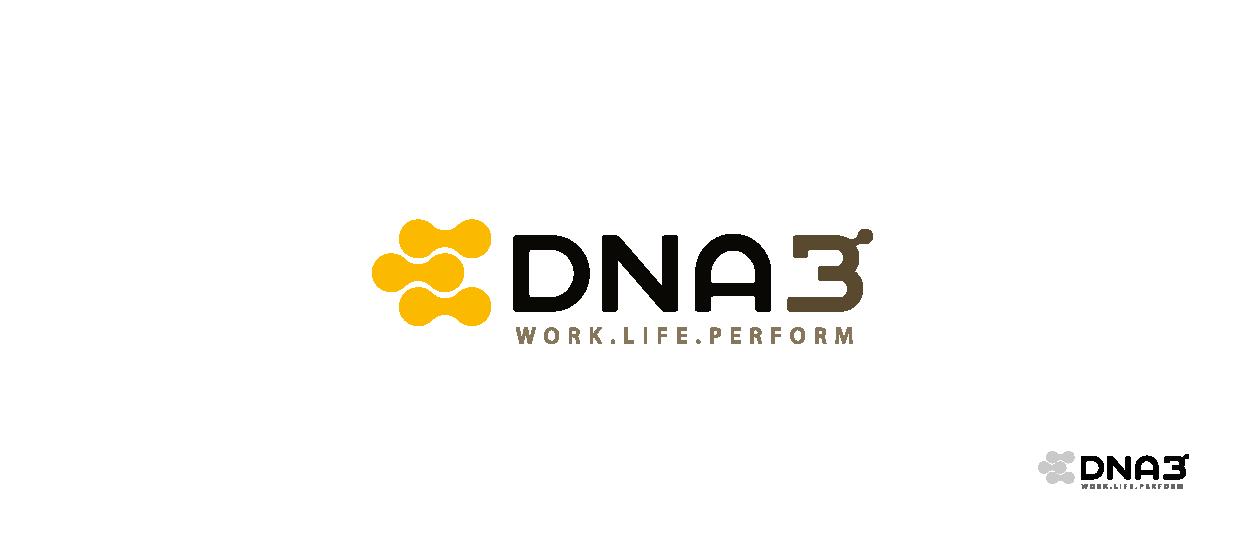 startup brand design slogan dna3