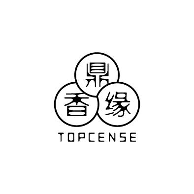 topcense logo chinese triune harmonies circle black