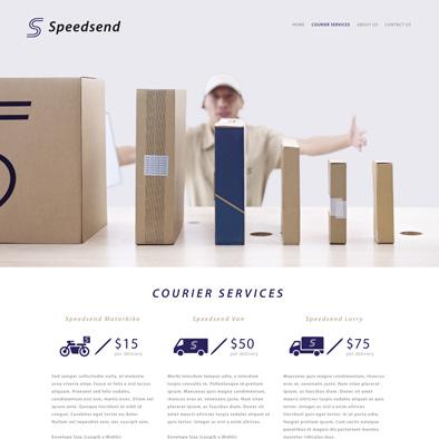 speedsend website courier services