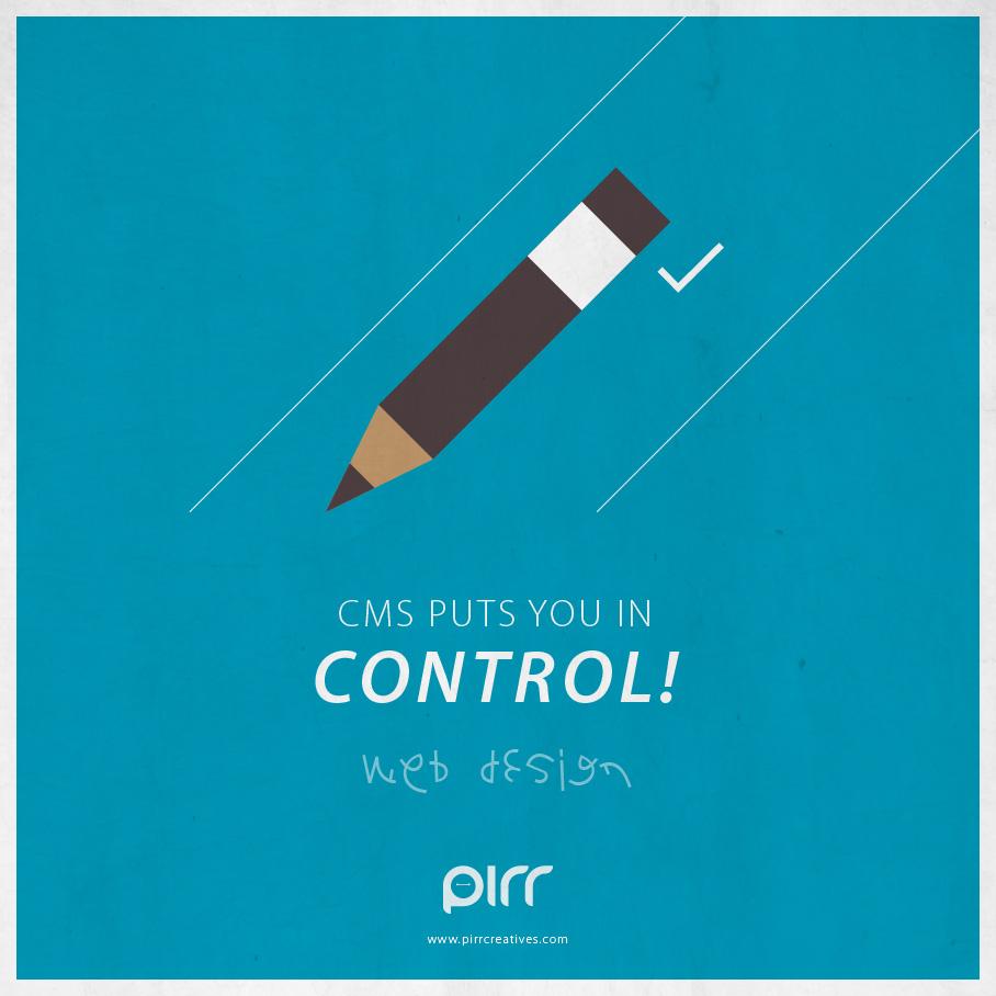 03 web design cms puts you in control