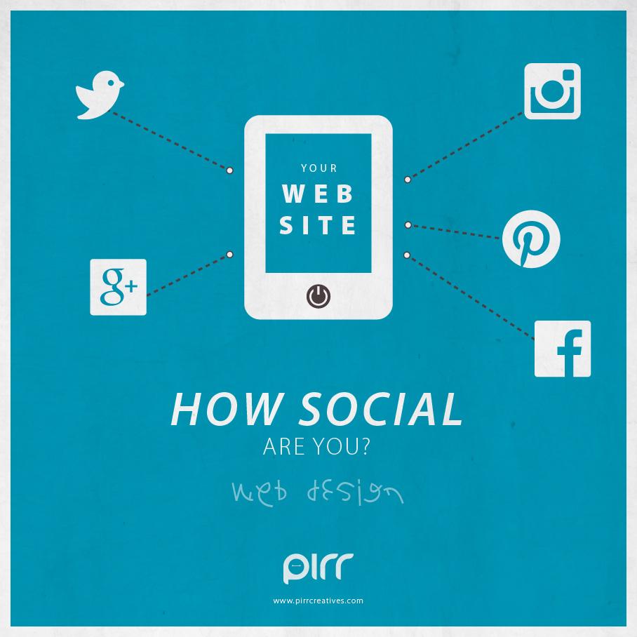 13 web design how social are you