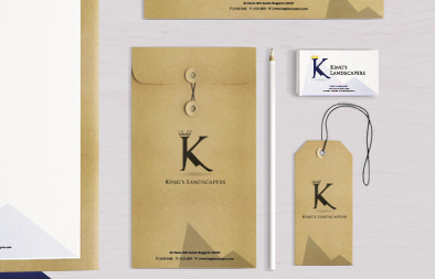 Brand Identity for King's Landscapers
