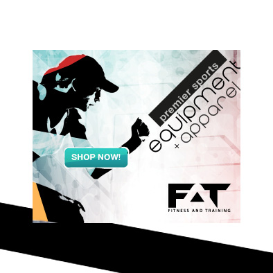 fitness and training facebook ad banner neutral