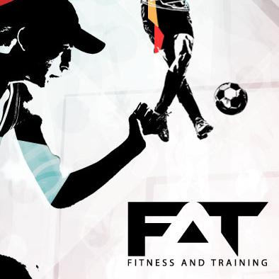 fitness and training facebook ad banner