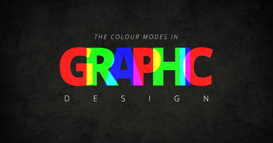 the colour modes in graphic design