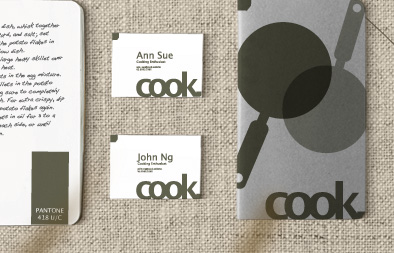 Visual Identity for cook.