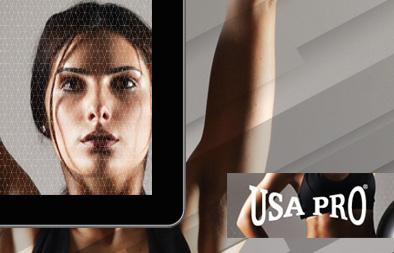 Website Banner Design for USA Pro