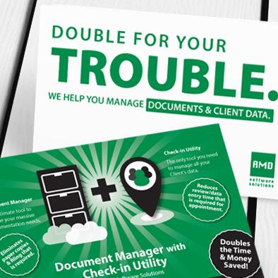 amd software leaflet design green