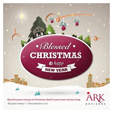 ark advisors christmas ecard design full