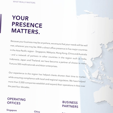 boardroom matters corporate brochure desktop calendar design presence