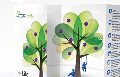 Brochure Design for Yio Chu Kang Chapel