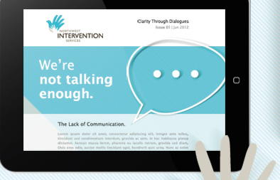 eNewsletter Design for Northwest Intervention Services