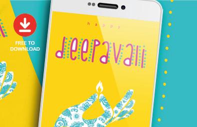 Free Deepavali (Diwali) Greeting Card Design